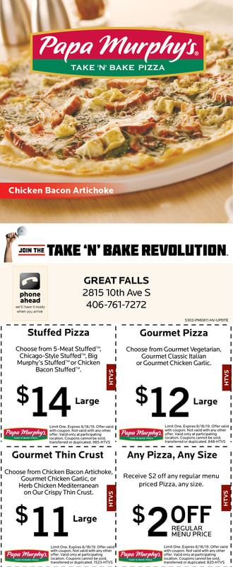 East Side Area Coupons - Great Falls Hometown Values Coupon